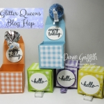 Itty Bitty Pop up Treat Box video ~ Glitter Queens Blog Hop