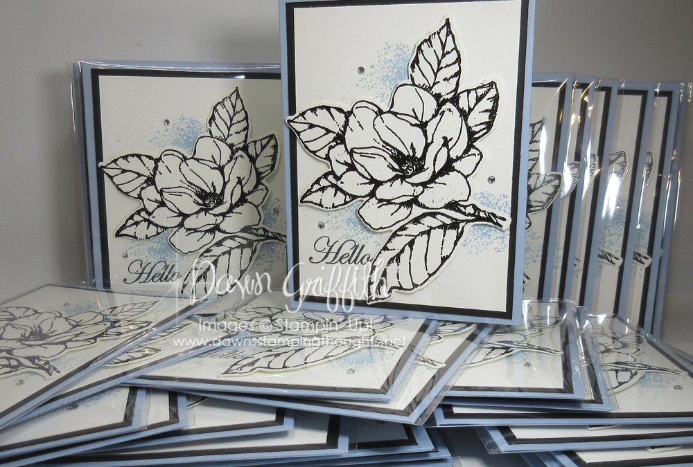 Black Shimmer Embossing Powder Video ~ 2019 Advisory Board Swaps