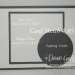 Card Sketch #85