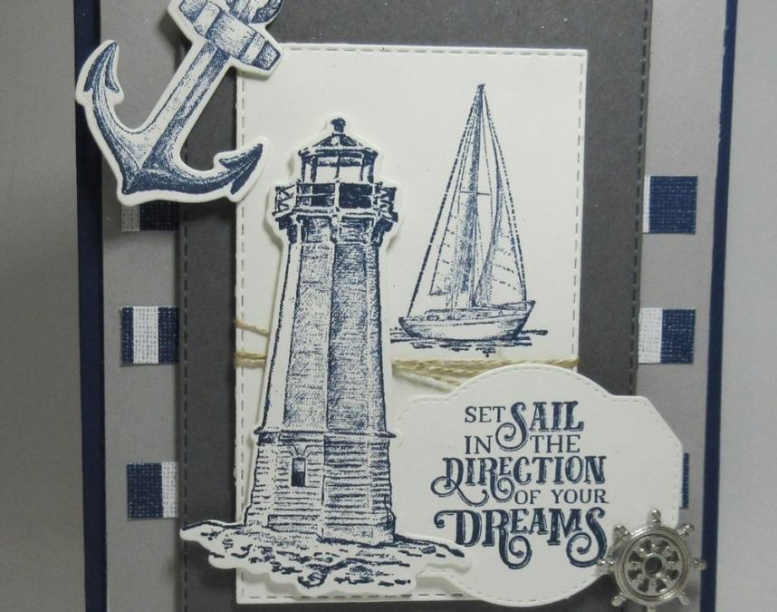 Sailing Home ~ Card Sketch #86 video