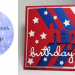 Glitter Queens Blog Hop~ Red-White-Blue.