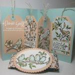 Pop Up Tag card video ~ Inspired by card from Stampin'Up!