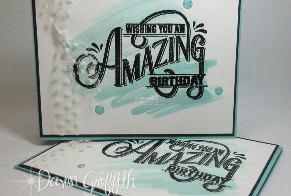 Everything Amazing Birthday card video
