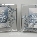 Two for Thursday ~Frosted Foliage Christmas card video