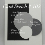 Card Sketch # 102