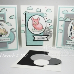 Over the Moon Card Sketch # 102 Video