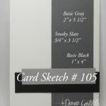 Card Sketch # 105