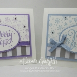 Two for Thursday ~ Merry & Bright Christmas card video