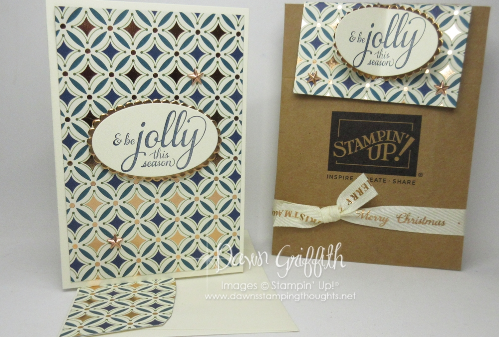Note Cards & Envelope Holder w/ Mini Shipping boxes video