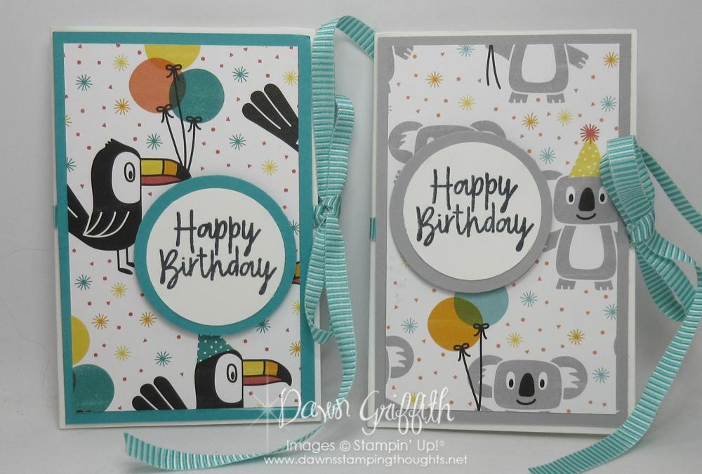 Birthday Bonanza Envelope Gift Card Holder video