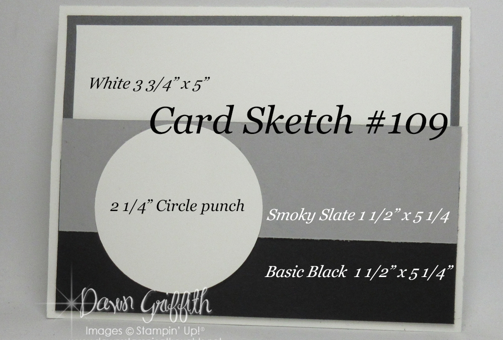 Card Sketch # 109