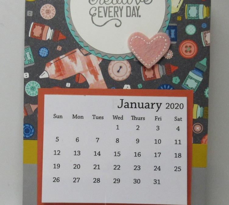 Two for Thursday ~Follow Your Art Magnet Calendar Video
