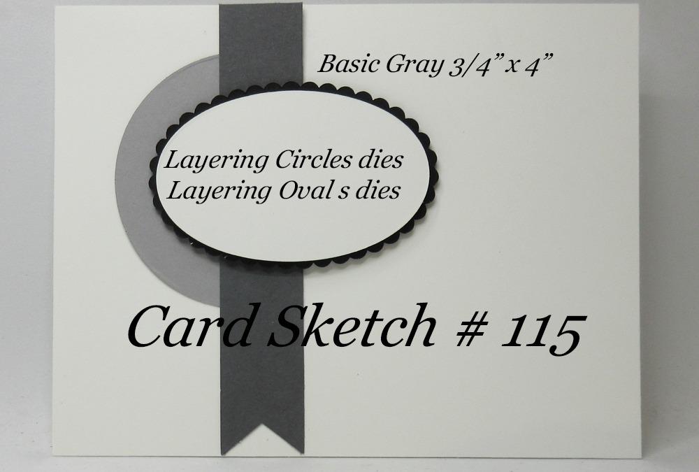 Card Sketch # 115