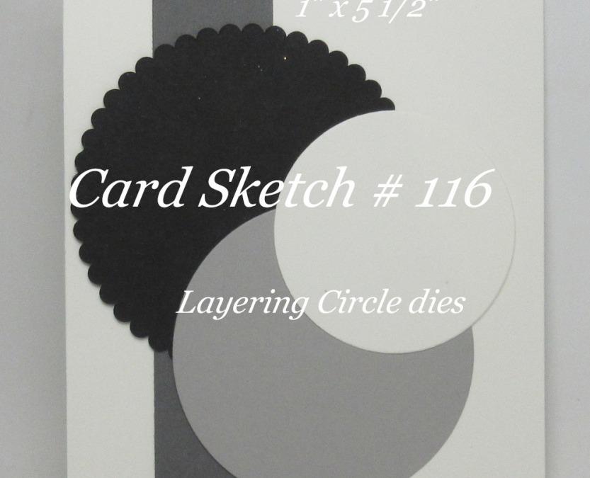 Card Sketch # 116