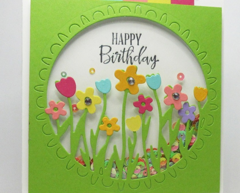 Sending Flowers Shaker Card video