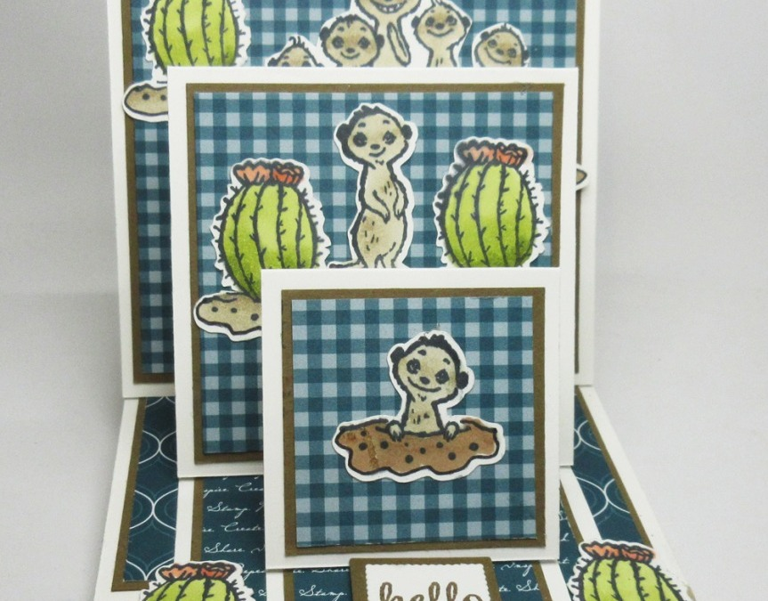 Two for Thursday ~ Triple Easel Card videos