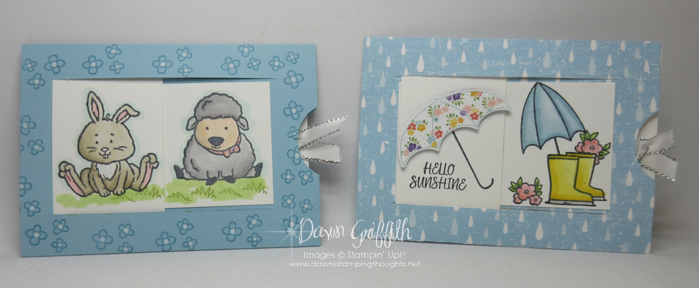 Two for Thursday ~ Window Slider Card Videos