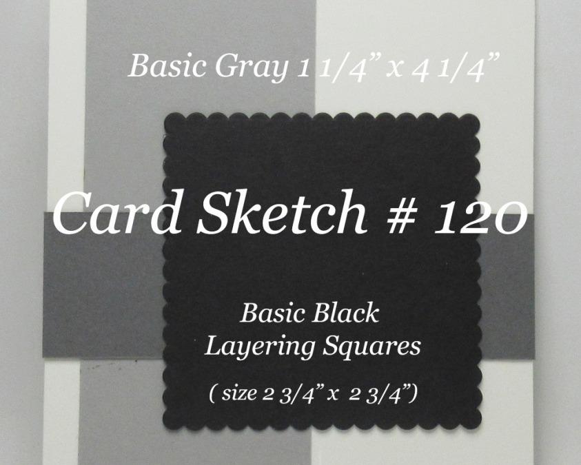 Card Sketch # 120