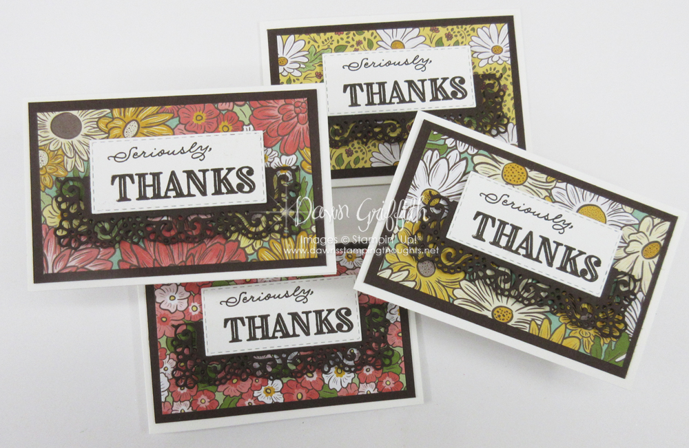 Ornate Garden Thank you notes for April video.