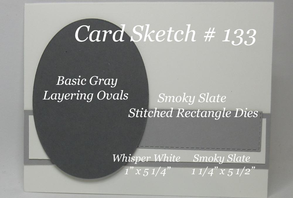 Card Sketch # 133