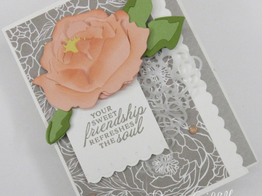Two for Thursday ~ Prized Peony card