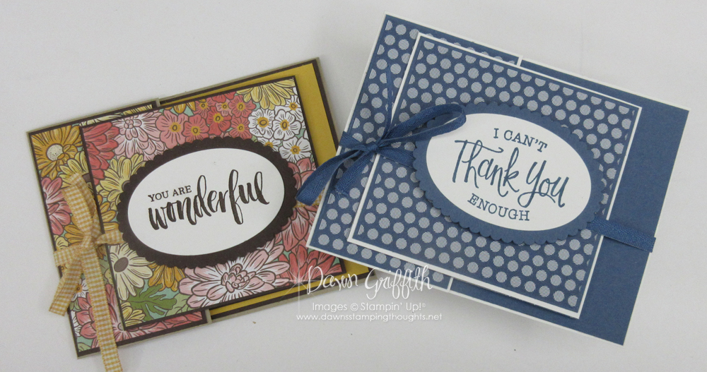 Two for Thursday ~ Gift Card Holder ~June 2020 Featured Project Videos.