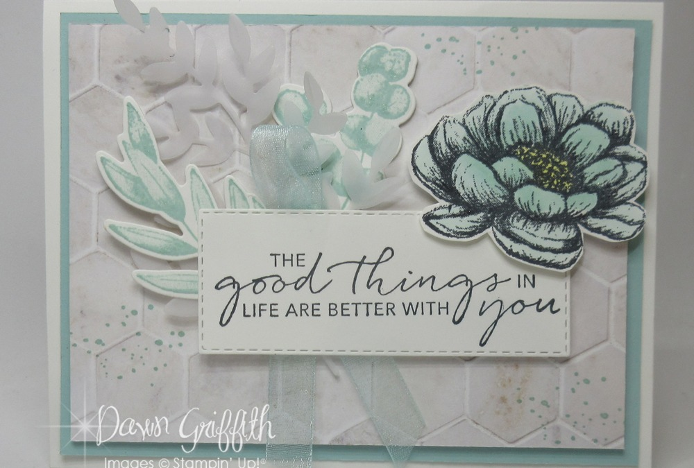 Two for Thursday ~Tasteful Touches with In Good Taste and Forever Fern card video