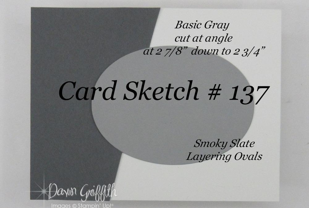 Card Sketch # 137