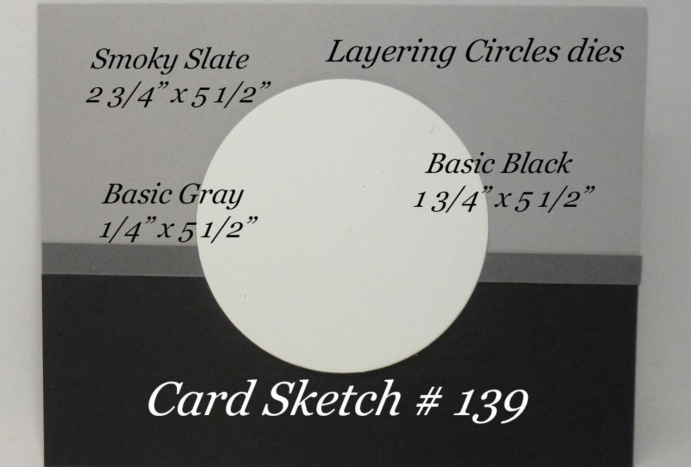 Card Sketch # 139