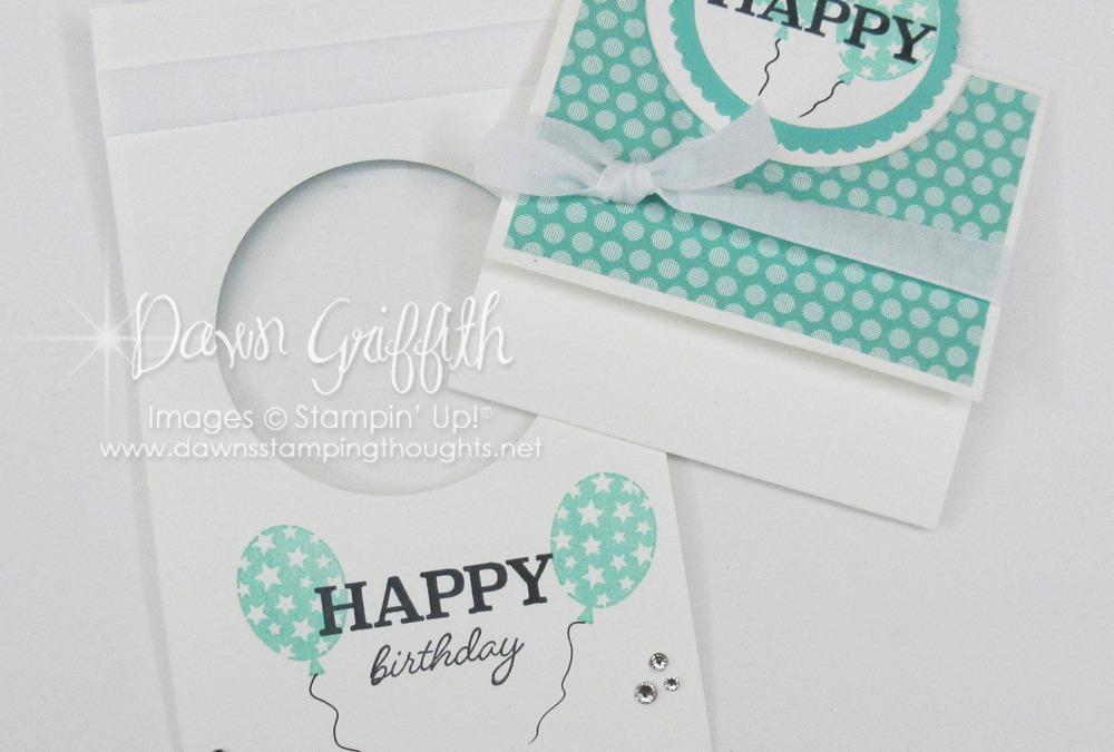 Happy Happy Birthday card ~ Video