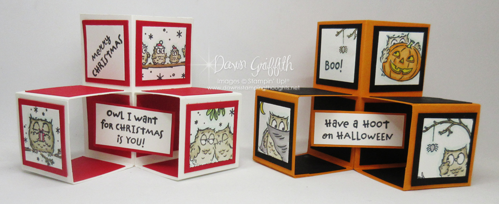 Two for Thursday ~ Mini Cube card video