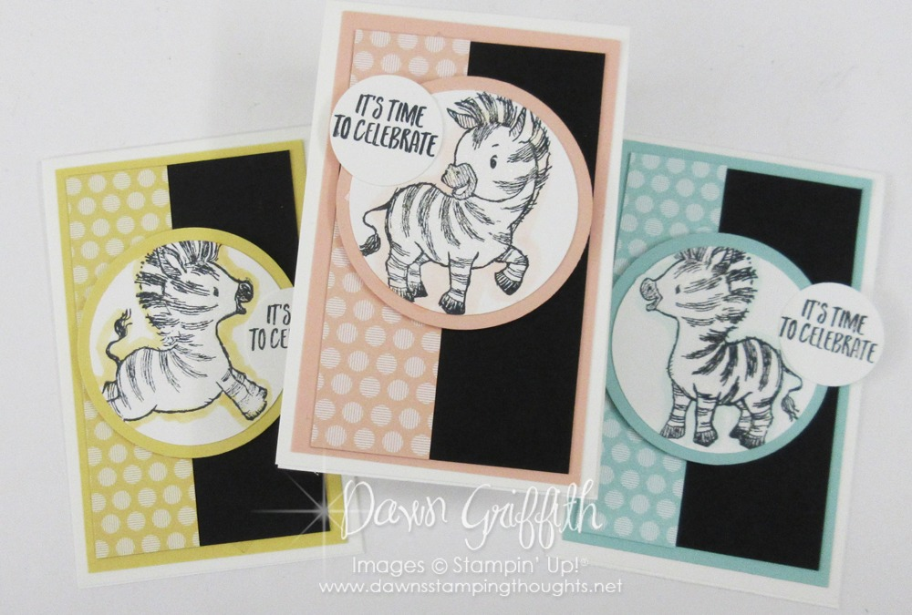 Zany Zebras ~August 2020 Thank you notes video.