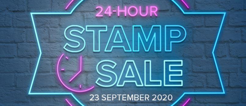 24 hour Stamp Flash Sale