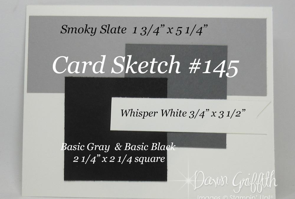 Card Sketch # 145