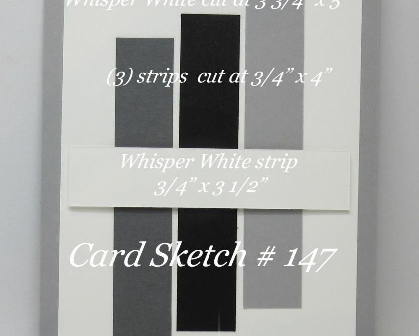 Card Sketch # 147