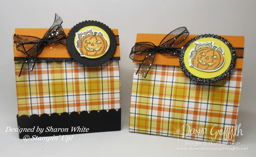 Plaid Tidings 6″ x 6″ Mini Treat Bag video