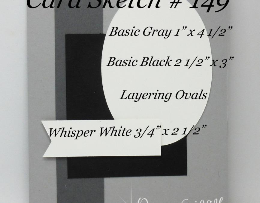 Card Sketch # 149