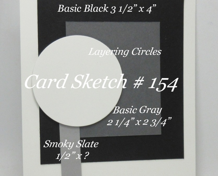 Card Sketch # 154