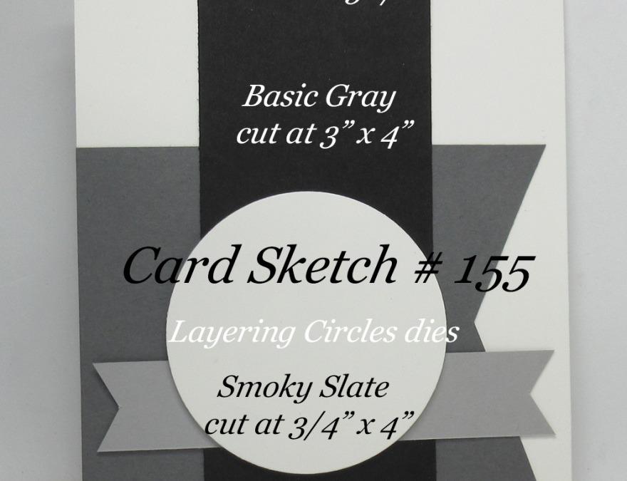 Card Sketch # 155