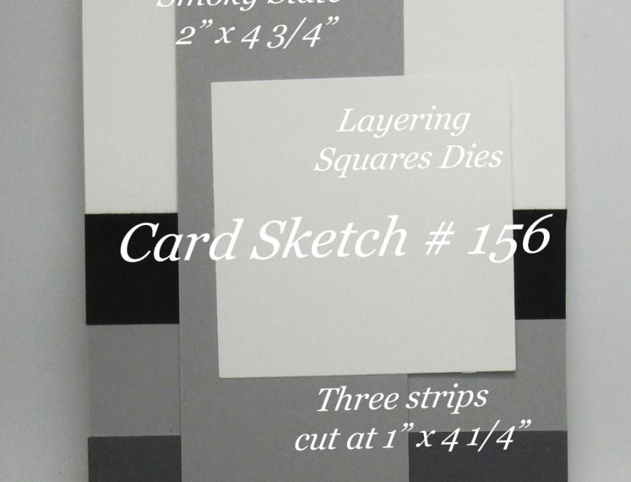 Card Sketch # 156