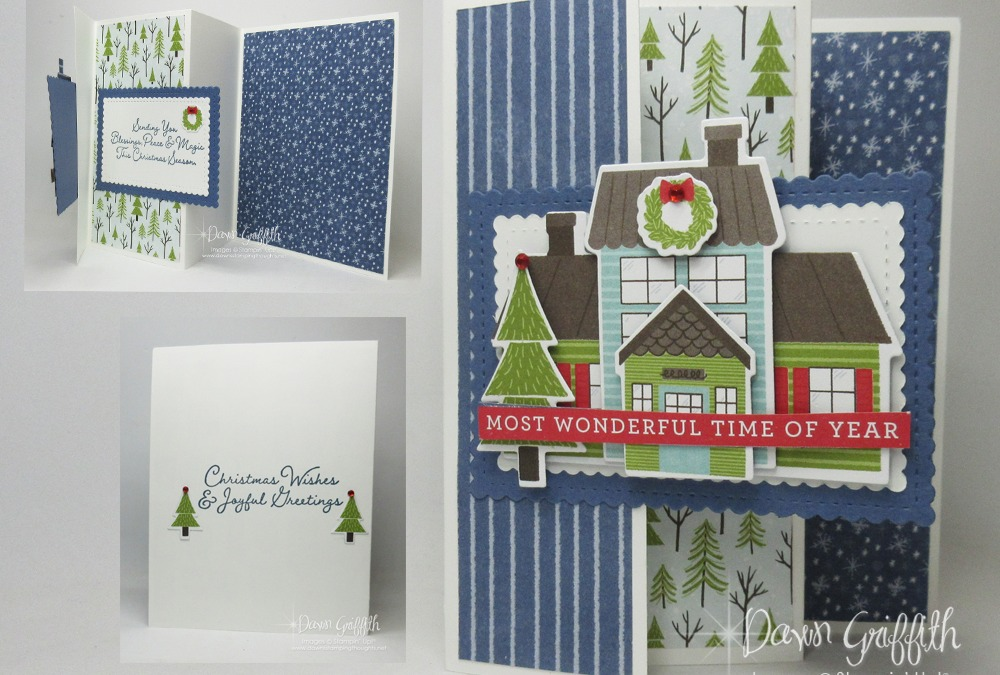 Two for Thursday Full Size Three Panel Fun Fold Card
