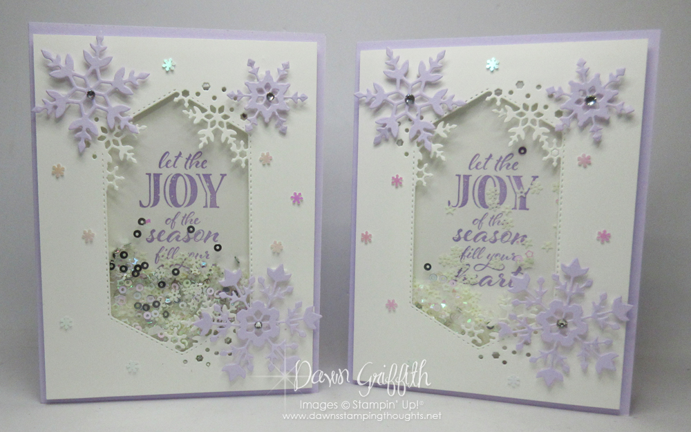Gorgeous shaker card video that everyone will say WOW!