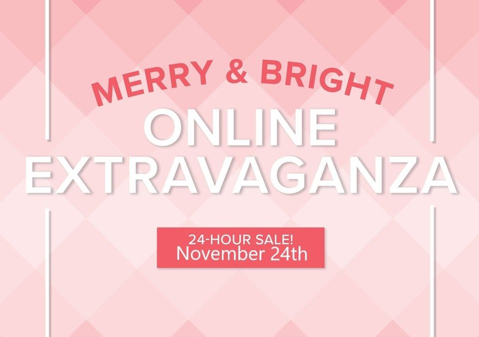 Merry & Bright 24 hour Flash Sale