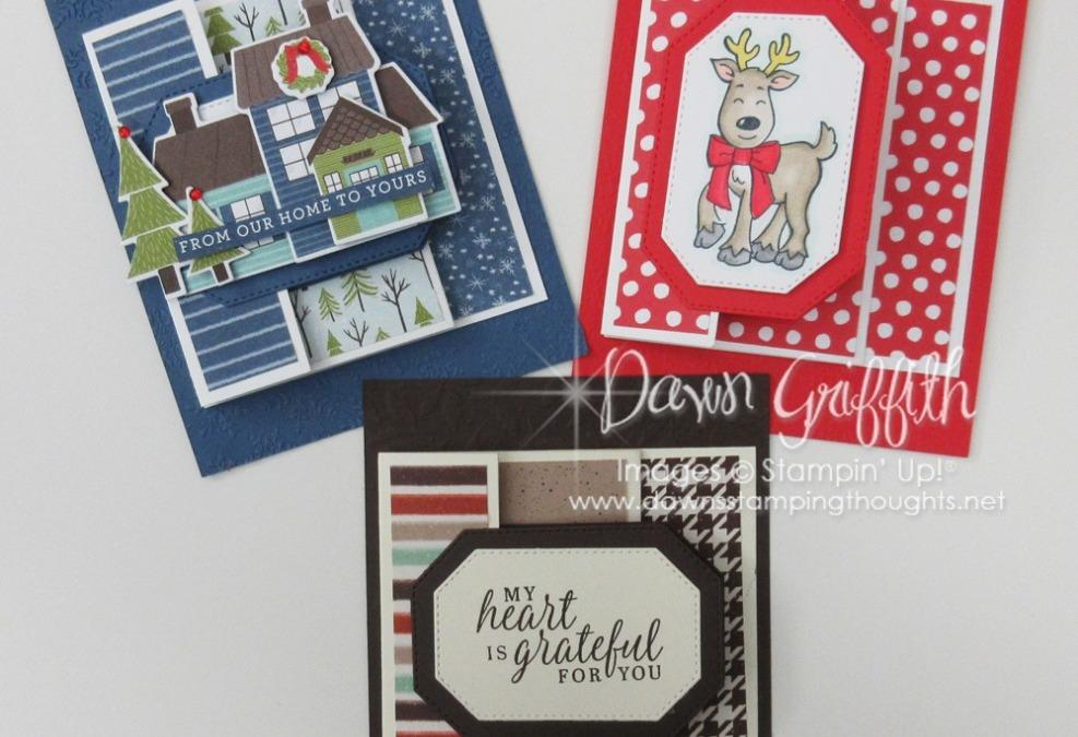 Three Panel Christmas Card video
