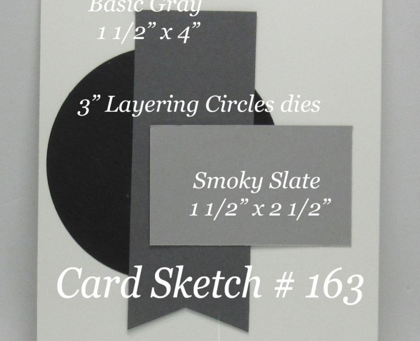 Card Sketch # 163