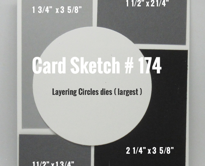 Card Sketch # 174