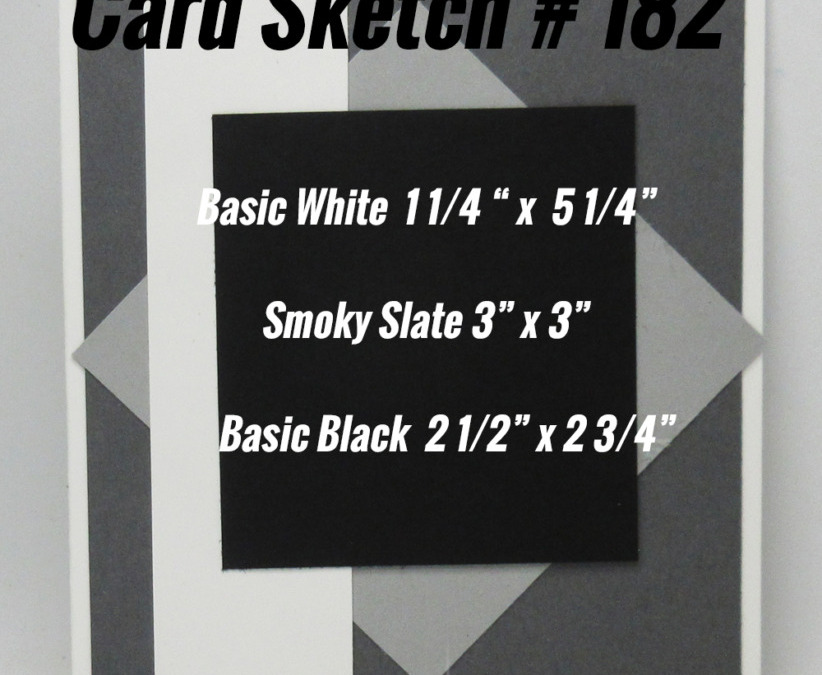 Card Sketch # 182