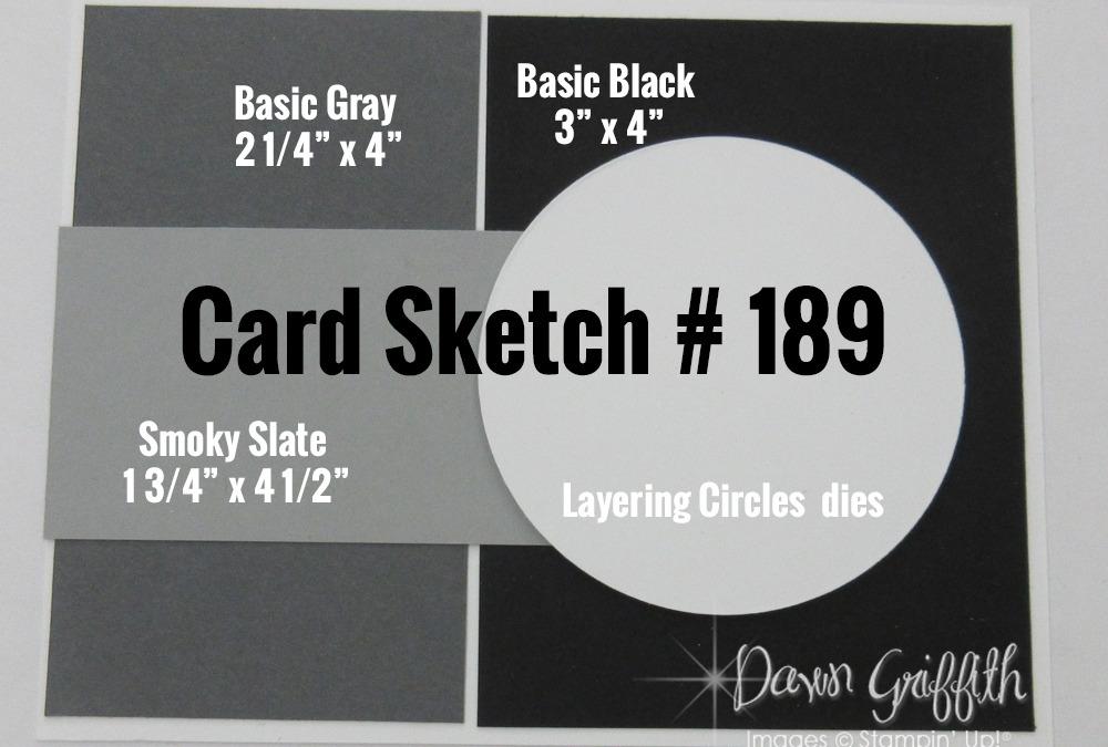 Card Sketch # 189