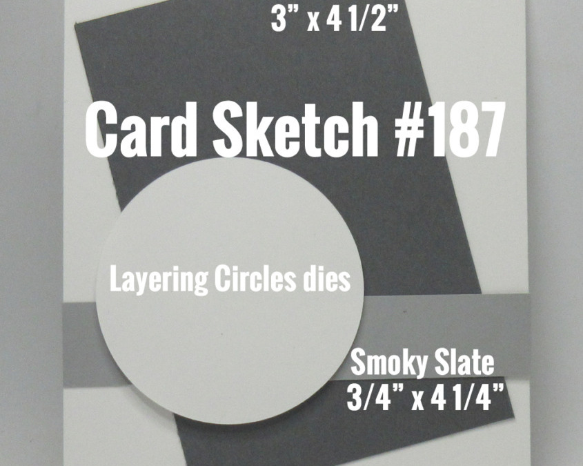 Card Sketch # 187