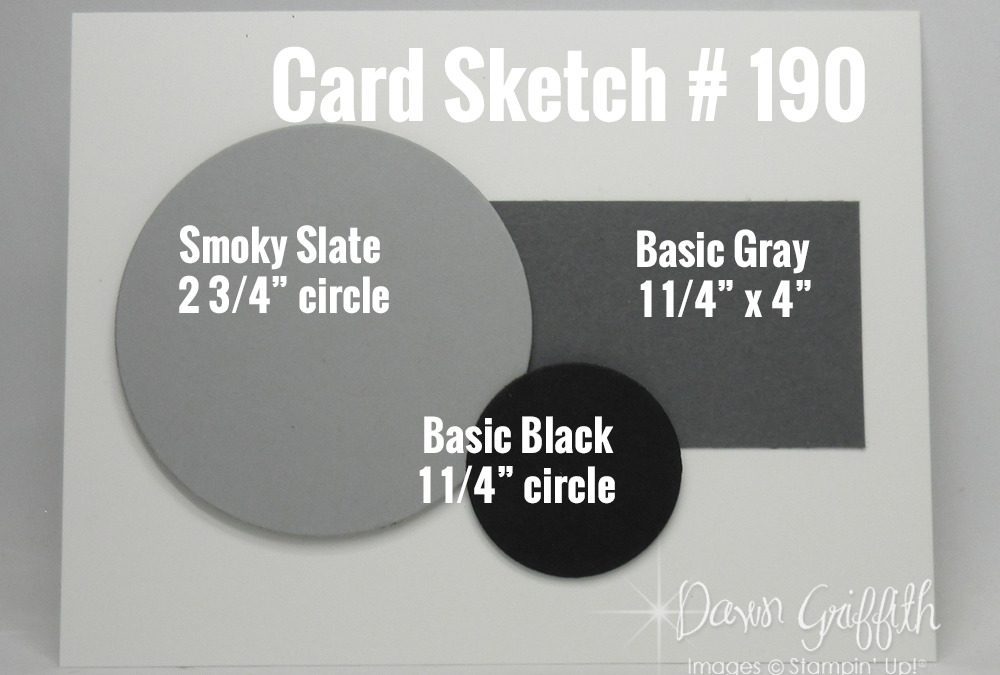 Card Sketch # 190